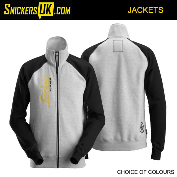 Snickers 2887 Logo Full Zip Jacket - Snickers Workwear