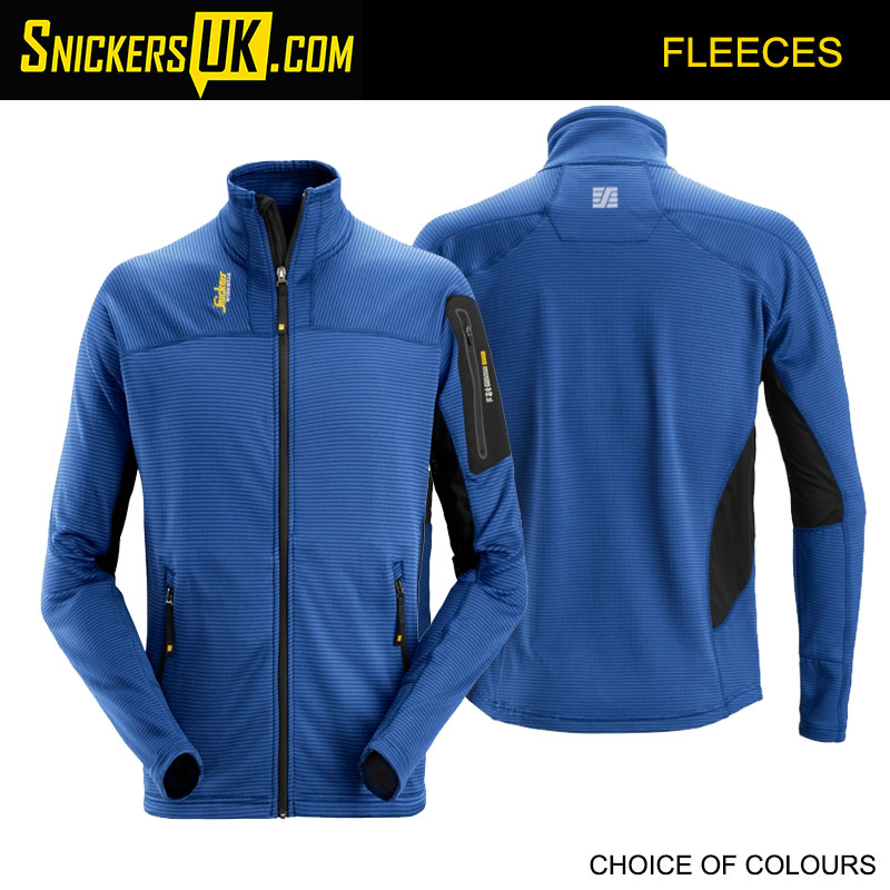 Snickers 9438 Body Mapping Micro Fleece Jacket