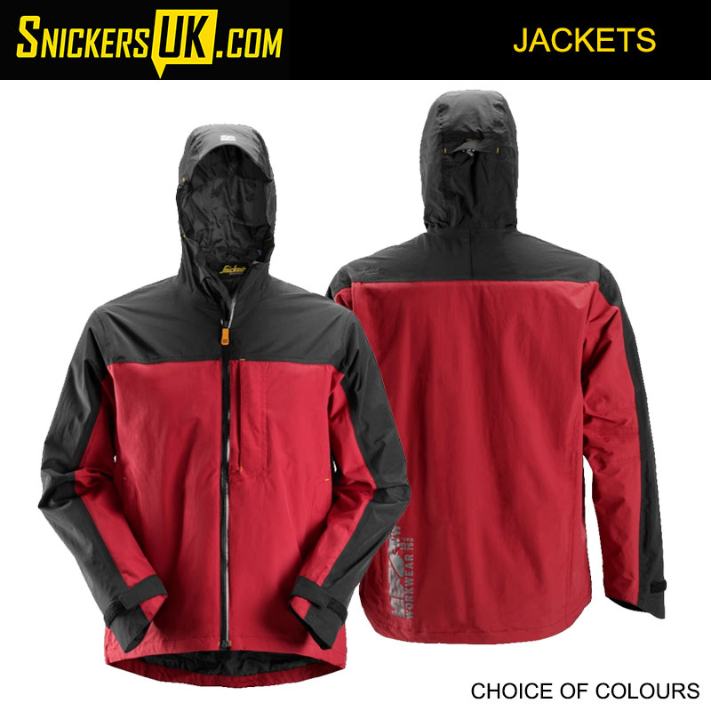 Snickers 1303 AllRoundWork Waterproof Shell Jacket | Snickers Jackets