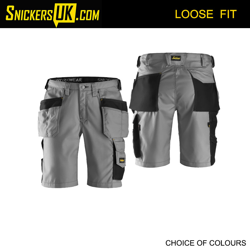Snickers 3023 RipStop Holster Pocket Shorts - Snickers Workwear