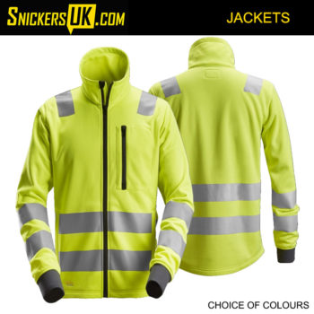 Snickers 8036 AllroundWork High-Vis Full Zip Jacket - Snickers Hi Vis Jackets
