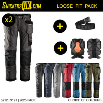 Snickers 3212 Duratwill Holster Pocket Trousers - Snickers Work Trousers