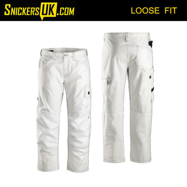 Snickers 3375 Painter's Non Holster Pocket Trousers - Snickers Work Trousers