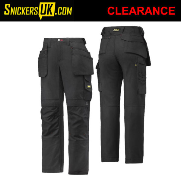 Snickers 3714 Women's Canvas Holster Pocket Trousers