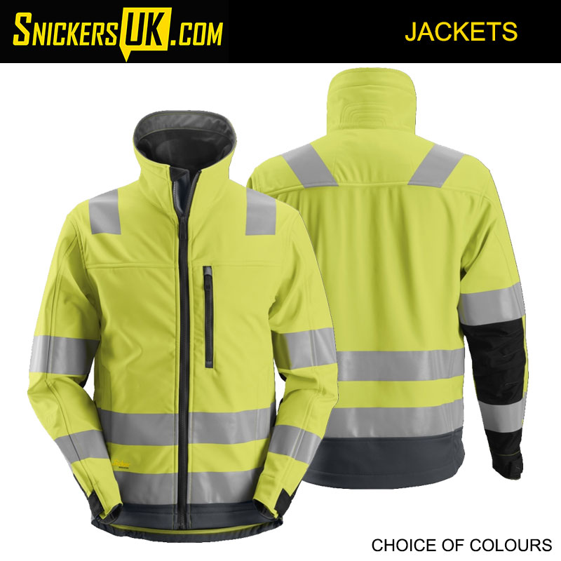 Snickers 1230 AllroundWork High-Vis Softshell Jacket