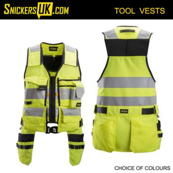 Snickers 4230 AllRoundWork High Vis Tool Vest | Snickers Workwear Tool Vests