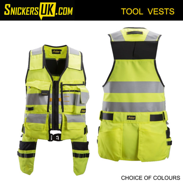 Snickers 4230 AllRoundWork High Vis Tool Vest | Snickers Workwear Tool Vests