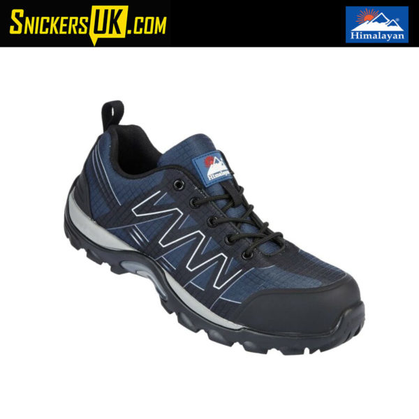 Himalayan 4300 Blue Black Cross Composite Safety Trainer - Safety Footwear