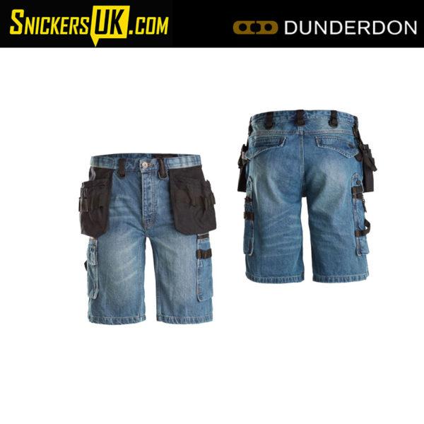 Dunderdon P55S Carpenter Denim Shorts