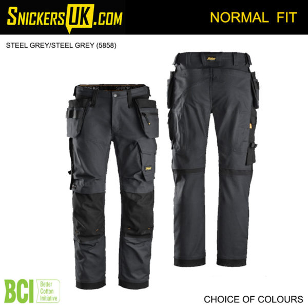 Snickers 6270 AllRoundWork Vision Work Holster Pocket Trousers