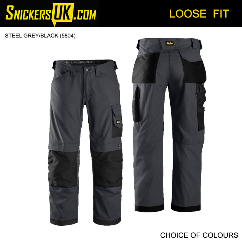Snickers 3314 Canvas+ Non Holster Pocket Trousers