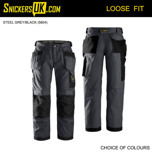 Snickers 3213 Rip Stop Holster Pocket Trousers