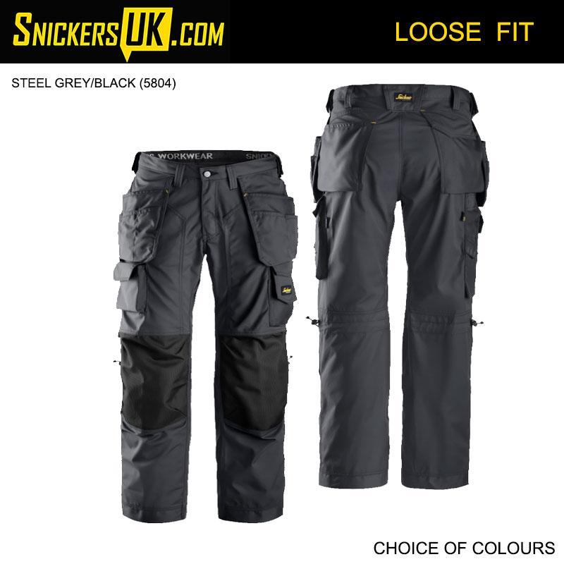 Snickers 3223 FloorLayers Holster Pocket Trousers
