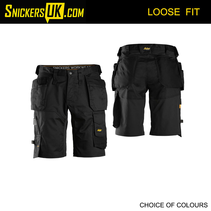 Snickers 6151 AllRoundWork Loose Fit Stretch Holster Pocket Shorts