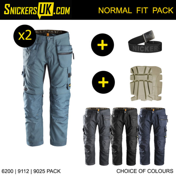 Snickers 6200 AllRoundWork Euro Holster Pocket Trousers