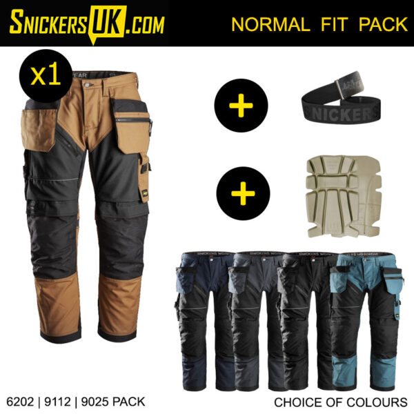 Snickers 6202 RuffWork Euro Holster Pocket Trousers - Snickers Workwear
