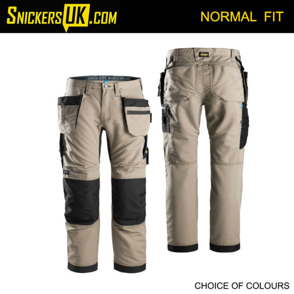 Snickers 6206 LiteWork Euro Holster Pocket Trousers - Snickers Work Trousers