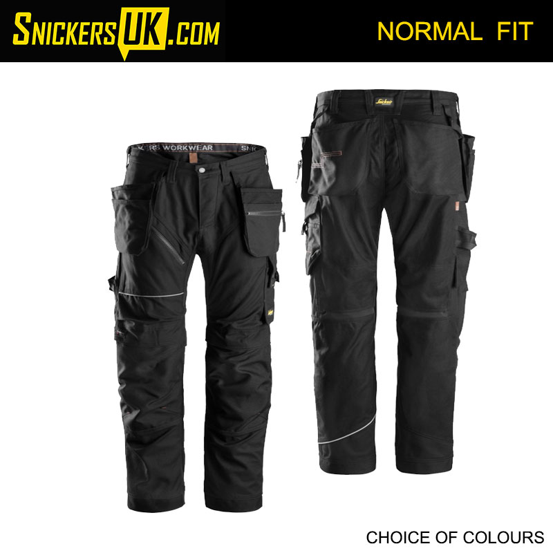Snickers 6215 RuffWork Cotton Holster Pocket Trousers - Snickers Work Trousers