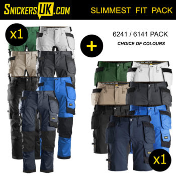 Snickers AllRoundWork Stretch Holster Pocket Trousers & Shorts
