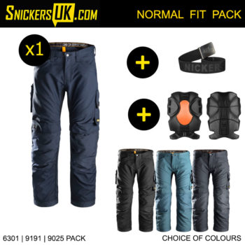 Snickers 6301 AllRoundWork Non Holster Pocket Trousers - Snickers Work Trousers