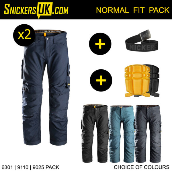 Snickers 6301 AllRoundWork Non Holster Pocket Trousers