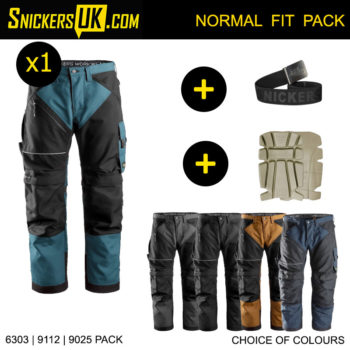 Snickers 6303 RuffWork Non Holster Pocket Trousers - Snickers Workwear