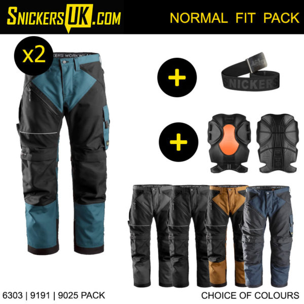 Snickers 6303 RuffWork Non Holster Pocket Trousers - Snickers Work Trousers