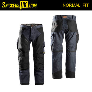 Snickers 6305 RuffWork Denim Non Holster Pocket Trousers - Snickers Work Trousers