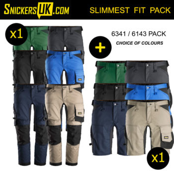 Snickers AllRoundWork Stretch Non Holster Pocket Trousers