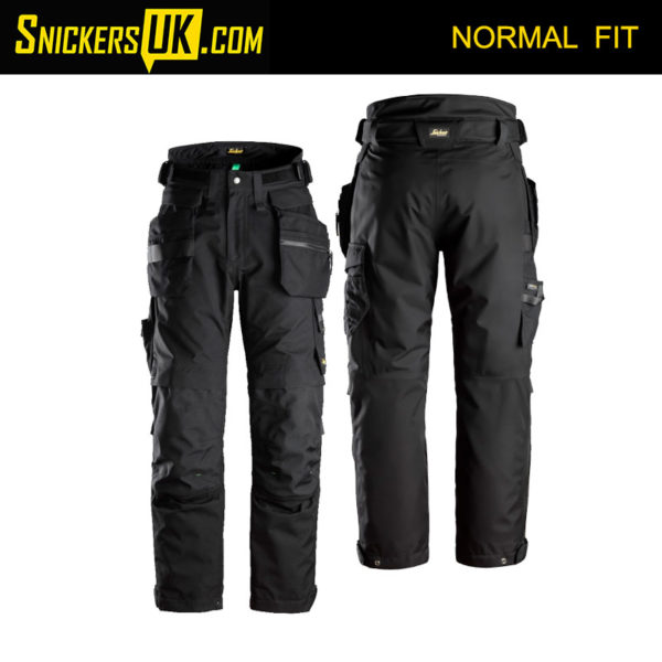 Snickers 6580 FlexiWork Gore-Tex 37.5 Insulated Holster Pocket Trousers - Snickers Workwear Trousers