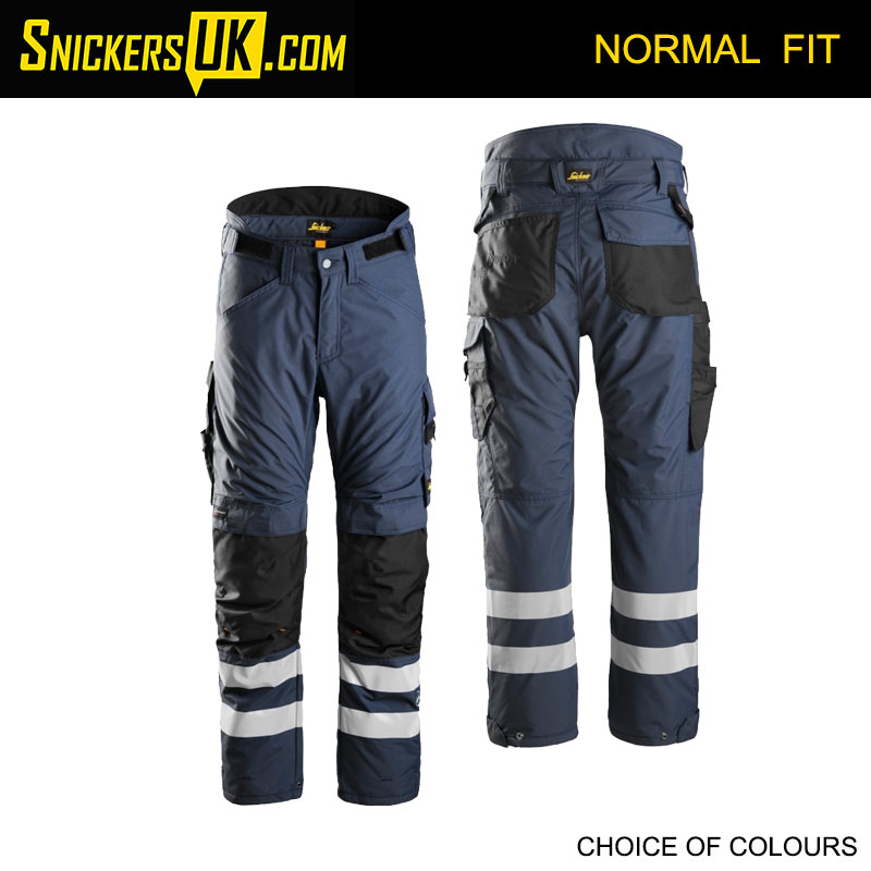 Snickers 6619 AllRoundWork 37.5 Insulated Trousers - Snickers Work Trousers