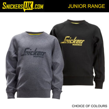 Snickers 7509 Junior Logo Sweatshirt