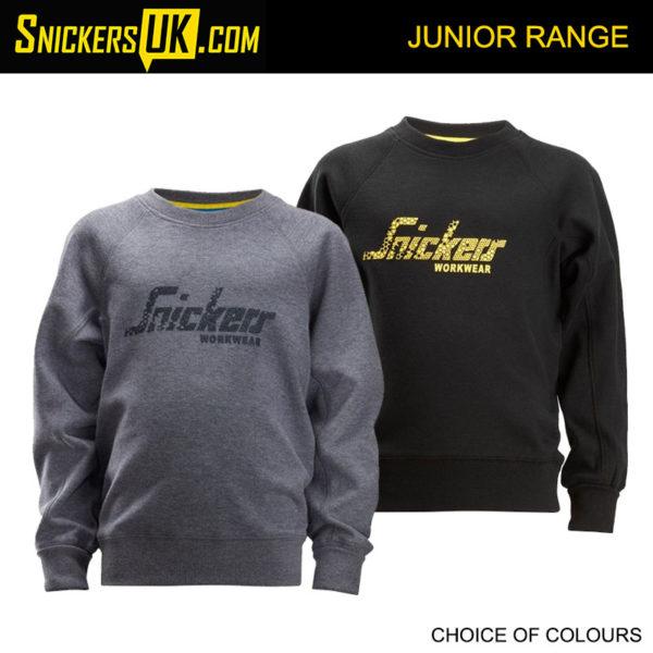 Snickers 7509 Junior Logo Sweatshirt