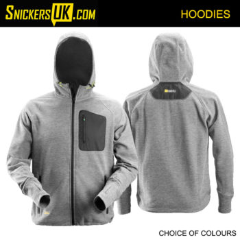 Snickers 8041 FlexiWork Fleece Hoodie - Snickers Hoodies