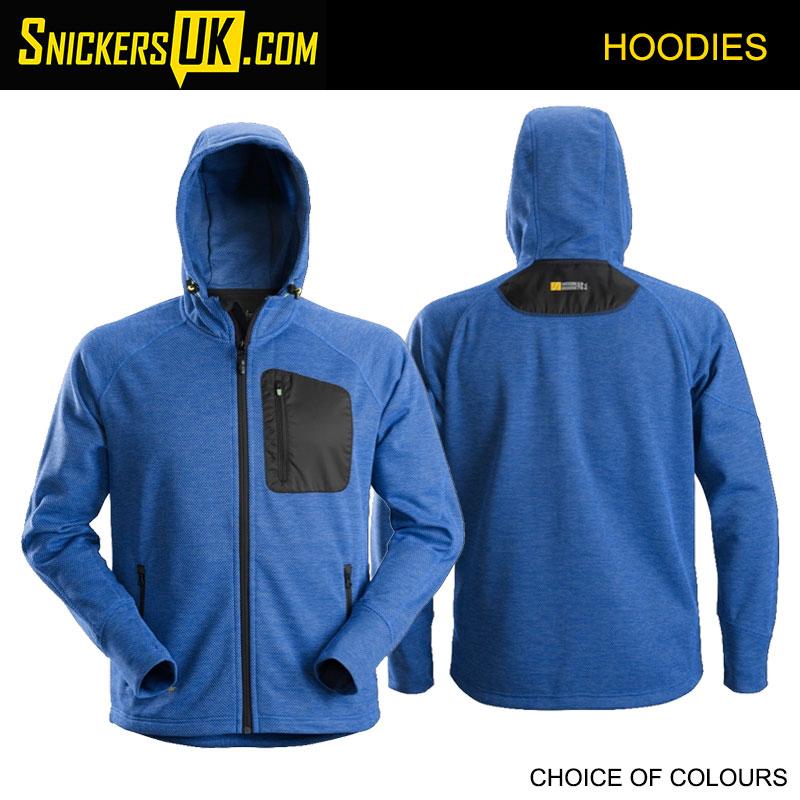 Snickers 8041 FlexiWork Fleece Hoodie - Snickers Hoodies
