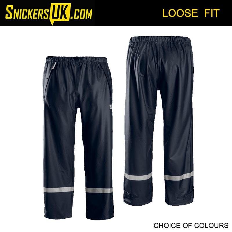 Snickers 8201 PU Rain Trousers