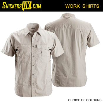 Snickers 8506 Rip Stop Short Sleeve Shirt | Snickers Workwear Shirts