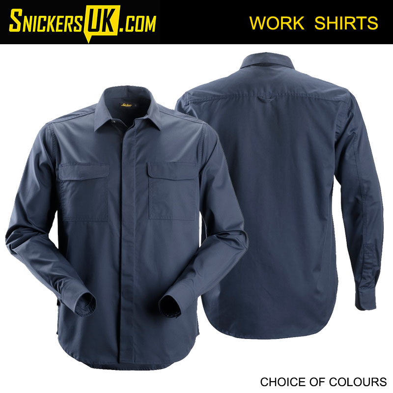 Snickers 8510 Service Long Sleeve Shirt | Snickers Workwear Shirts