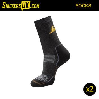Snickers 9206 RuffWork Cordura Wool Socks