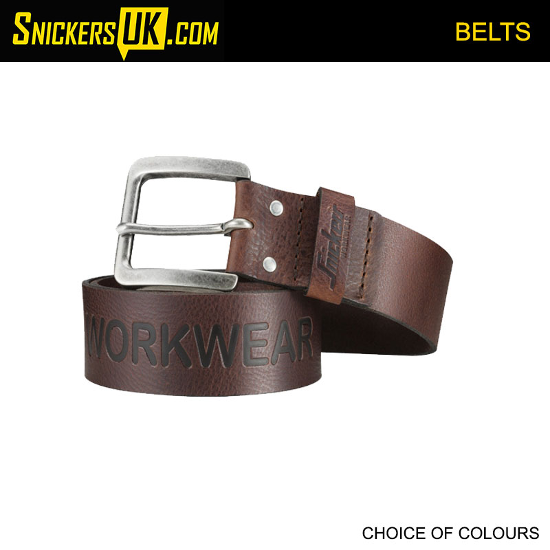 Snickers 9034 Leather Belt - Snickers Belts