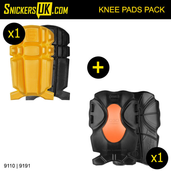 Snickers Knee Pads Pack 9110 and 9191 - Snickers Knee Pads