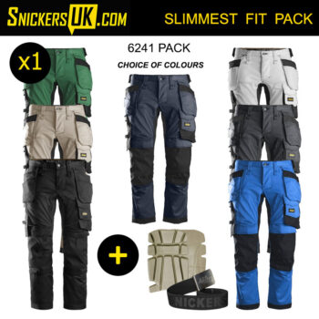 Snickers 6241 AllRoundWork Stretch Holster Pocket Trousers