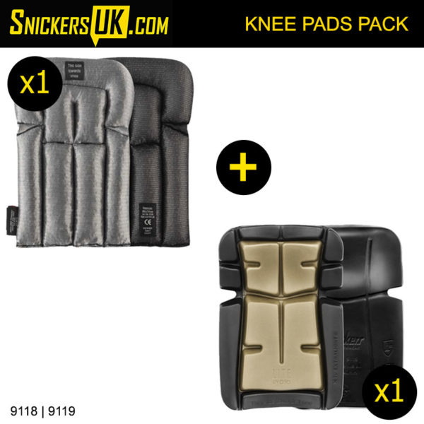 Snickers FloorLayers Knee Pads Pack 9118 and 9119 - Snickers Knee Pads
