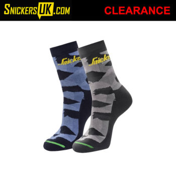 Snickers 9219 FlexiWork Camo Socks