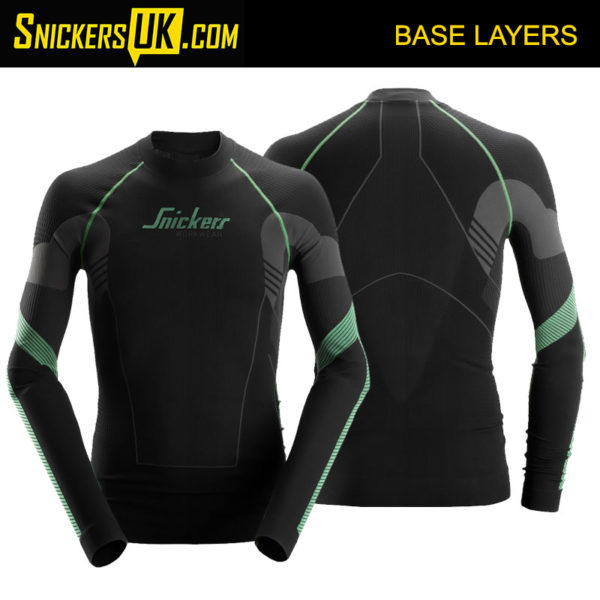 Snickers 9425 FlexiWork Seamless Long Sleeve Shirt | Snickers Workwear