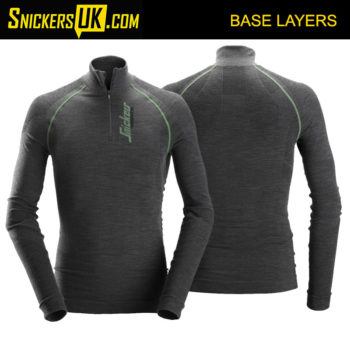 Snickers 9441 FlexiWork Seamless Wool Long Sleeve Shirt | Snickers Workwear