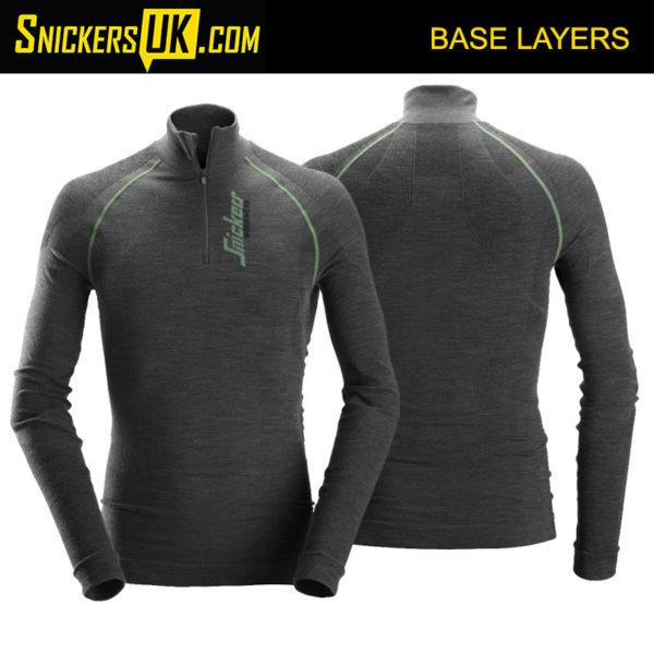 Snickers 9441 FlexiWork Seamless Wool Long Sleeve Shirt | Snickers Workwear