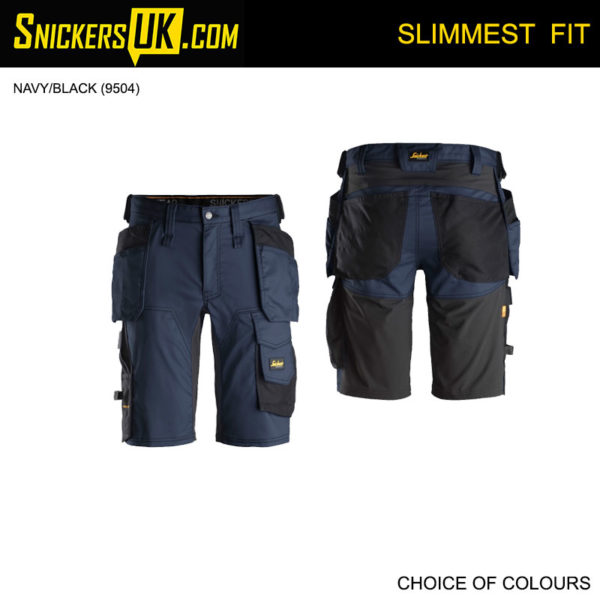 Snickers 6141 AllRoundWork Stretch Holster Pocket Shorts