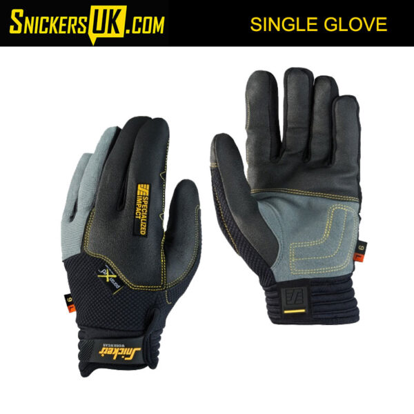 Snickers 9595 Specialized Impact Single Gloves - Snickers Gloves