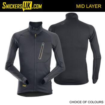 Snickers 9448 LiteWork Full Zip Mid Layer